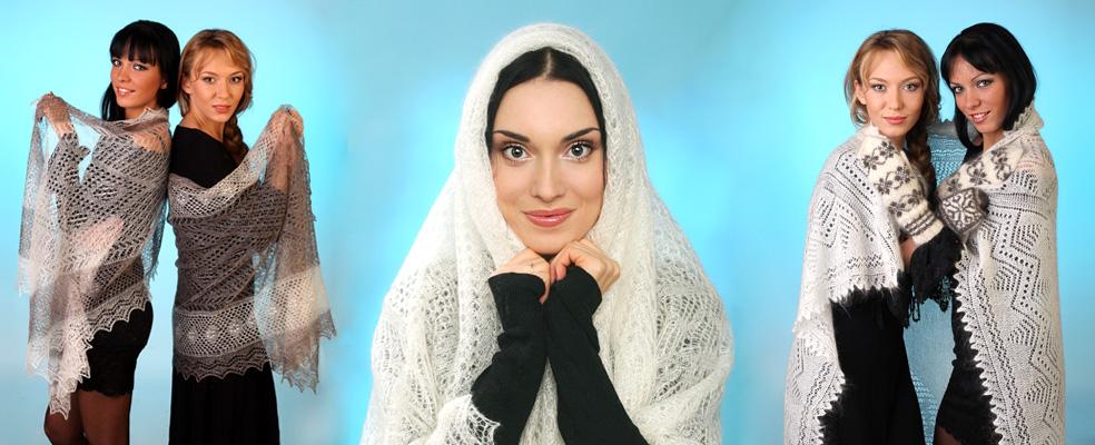 купить оренбургский пуховый платок Orenpyh.ru